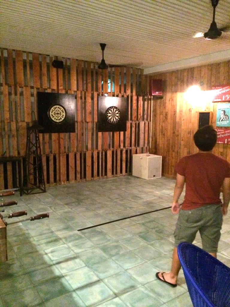 Throwing Darts