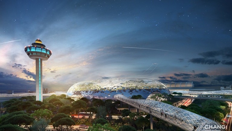 Project Jewel- A future shopping mall in Changi Area