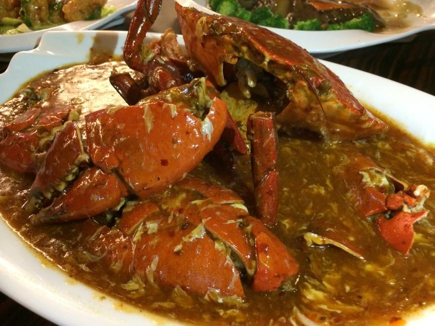 辣椒螃蟹 - Crab with Chilli Sauce